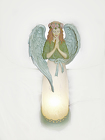 GLASS ANGEL LAMP from Fields Flowers in Ashland, KY