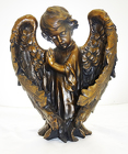 BRONZE RESIN ANGEL from Fields Flowers in Ashland, KY
