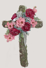 BURGUNDY CROSS from Fields Flowers in Ashland, KY