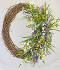 Large Spring Wreath from Fields Flowers in Ashland, KY