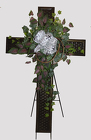 LARGE METAL CROSS from Fields Flowers in Ashland, KY