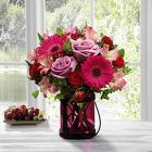 Pink Exuberance Bouquet by Better Homes and Gardens from Fields Flowers in Ashland, KY