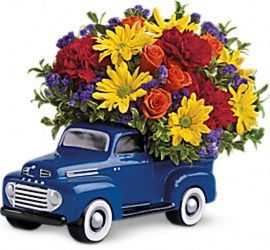 '48 Ford Pickup Bouquet from Fields Flowers in Ashland, KY