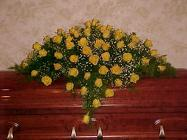 Yellow Rose and Babys Breath from Fields Flowers in Ashland, KY