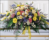 Heavenly Scented Casket Spray from Fields Flowers in Ashland, KY