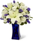 The FTD Beyond Blue Bouquet from Fields Flowers in Ashland, KY