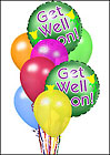 Get Well Balloon Bouquet from Fields Flowers in Ashland, KY