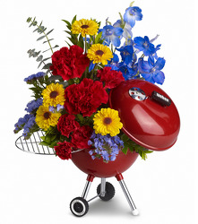 WEBER King of the Grill by Teleflora from Fields Flowers in Ashland, KY
