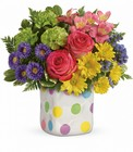 Teleflora's Happy Dots Bouquet from Fields Flowers in Ashland, KY