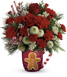 Send A Hug Winter Sips Bouquet by Teleflora from Fields Flowers in Ashland, KY