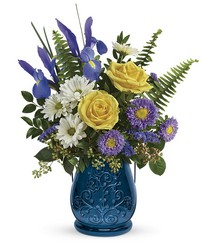 Teleflora's Sapphire Garden Bouquet from Fields Flowers in Ashland, KY