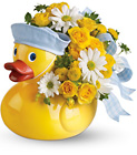 Teleflora's Ducky Delight from Fields Flowers in Ashland, KY