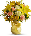 Teleflora's Sunny Smiles from Fields Flowers in Ashland, KY