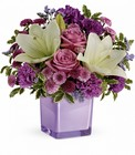 Teleflora's Pleasing Purple Bouquet from Fields Flowers in Ashland, KY