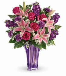 Teleflora's Luxurious Lavender Bouquet from Fields Flowers in Ashland, KY