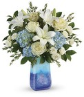 Ocean Sparkle Bouquet from Fields Flowers in Ashland, KY