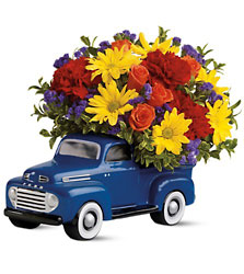 Teleflora's '48 Ford Pickup Bouquet  from Fields Flowers in Ashland, KY